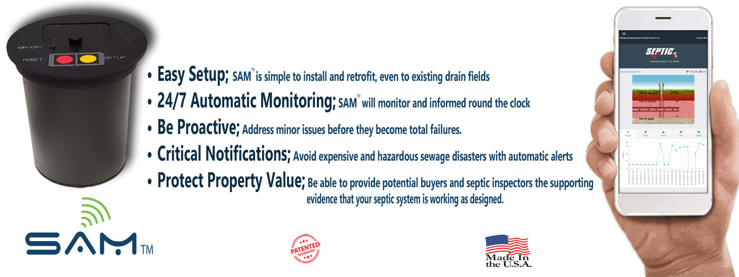 Runs daily tests to ensure your septic filed is working as designed and efficiently.