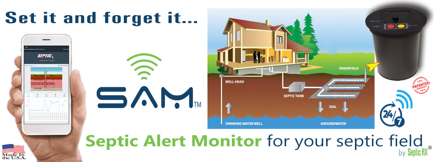 Septic-Field Alert Monitor (SAM™)